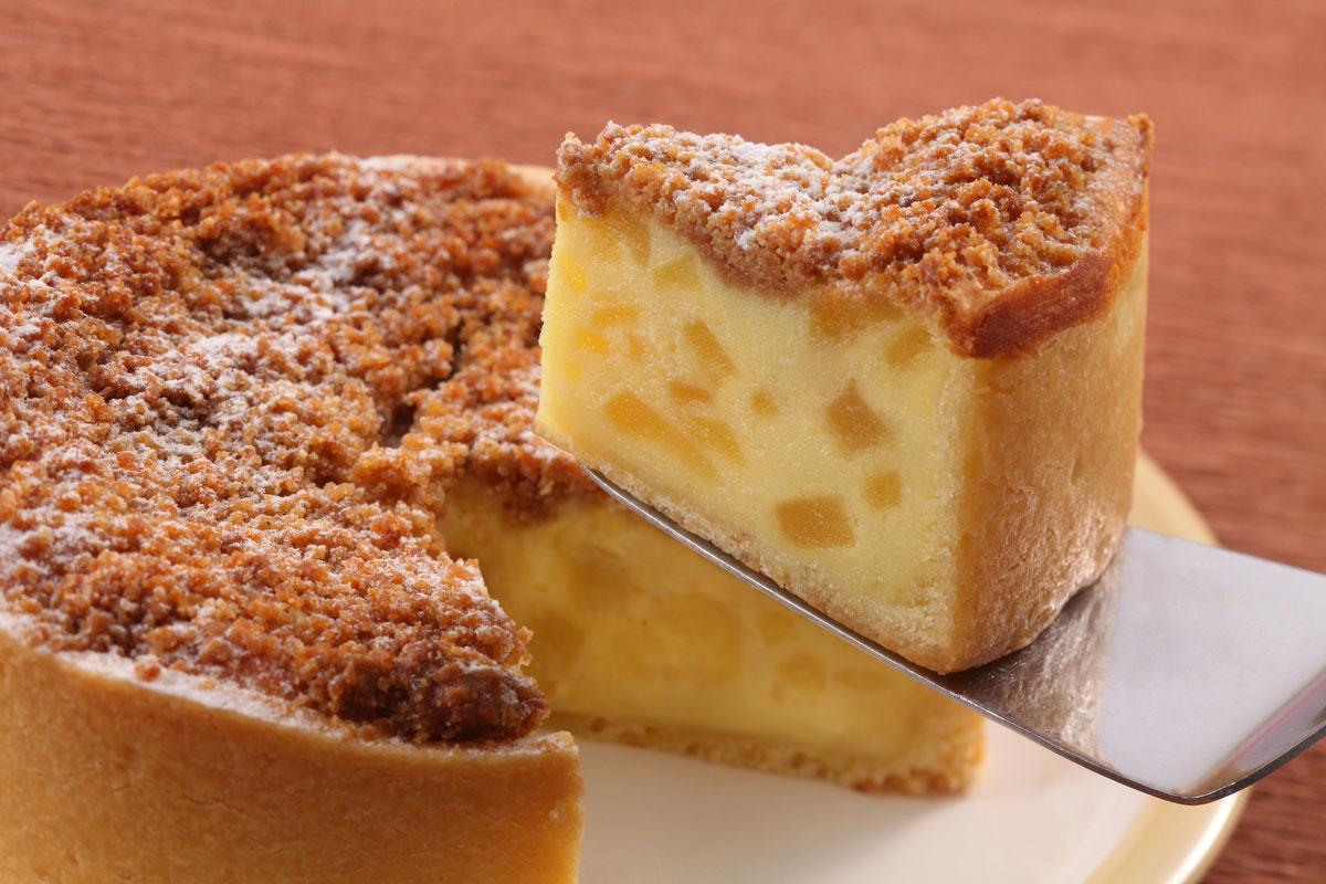 コクのりんごチーズケーキ